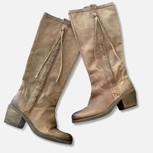 NINE WEST VINTAGE COLLECTION  TALL BOOTS S…